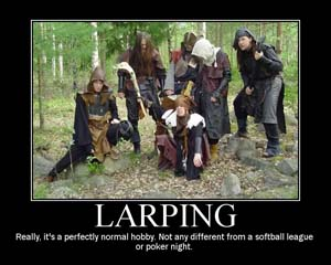 larp player generated content
