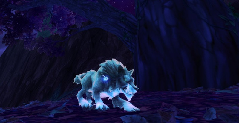 Warlords Of Draenor Ghost Wolf Looks So Much Better