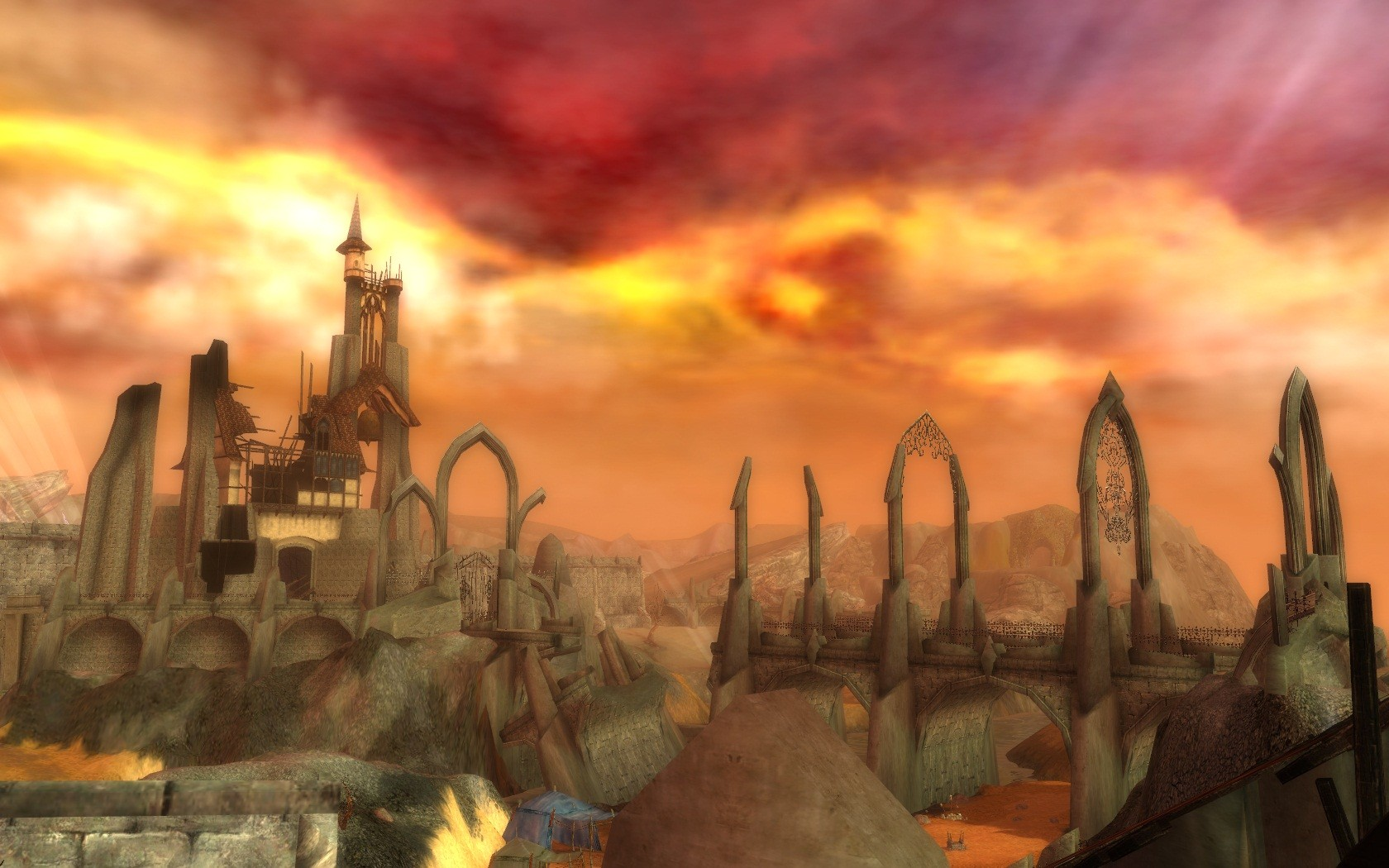 The Searing Ascalon In Ruins Guild Wars Galleries
