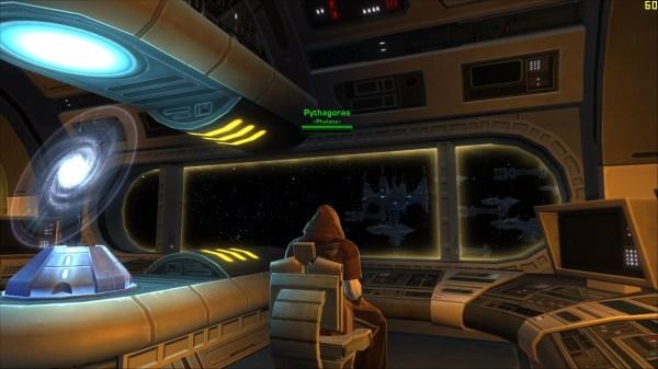 Jedi Spaceship Cockpit - Star Wars