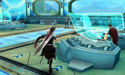 Screenshots of the Eternal Legacy HD for Android tablet, phone.