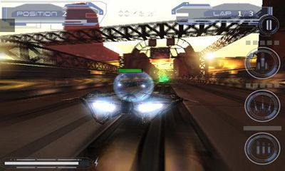 Screenshots of the Speed Forge 3D for Android tablet, phone.