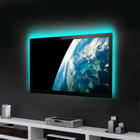 AGL Colour Changing 100cm LED Strip USB TV Backlight