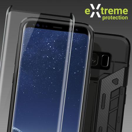 Olixar Extreme Protection Galaxy S8 Plus Case  Glass