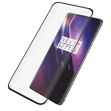PanzerGlass Case Friendly OnePlus 8 Glass Screen Protector - Black