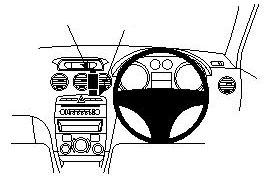 Base para soporte Brodit ProClip- Peugeot 308 08-