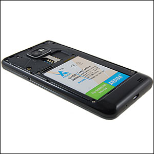 Andida Extended Battery for Samsung Galaxy S2 - 2000mAh