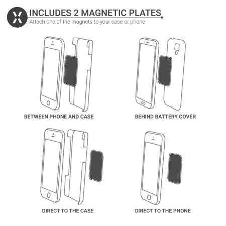 Magnetische Air Vent INVENT Universal Smartphone-Halter Olixar