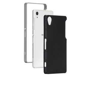 Case-Mate Slim Tough Case for Sony Xperia Z2 - Black / Silver