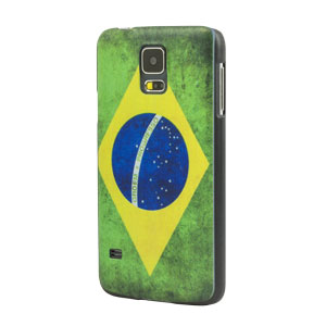World Cup Flag Samsung Galaxy S5 Case - Brazil
