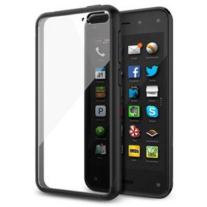 Spigen Ultra Hybrid Amazon Fire Phone Case - Black