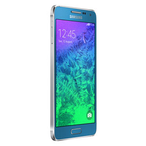 SIM Free Samsung Galaxy Alpha 32GB - Blue