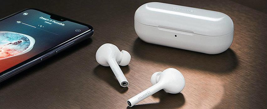 Official Huawei FreeBuds True Wireless Earphones - White