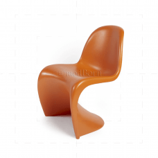 panton chair review discontinued thomasville dining chairs verner orange replica