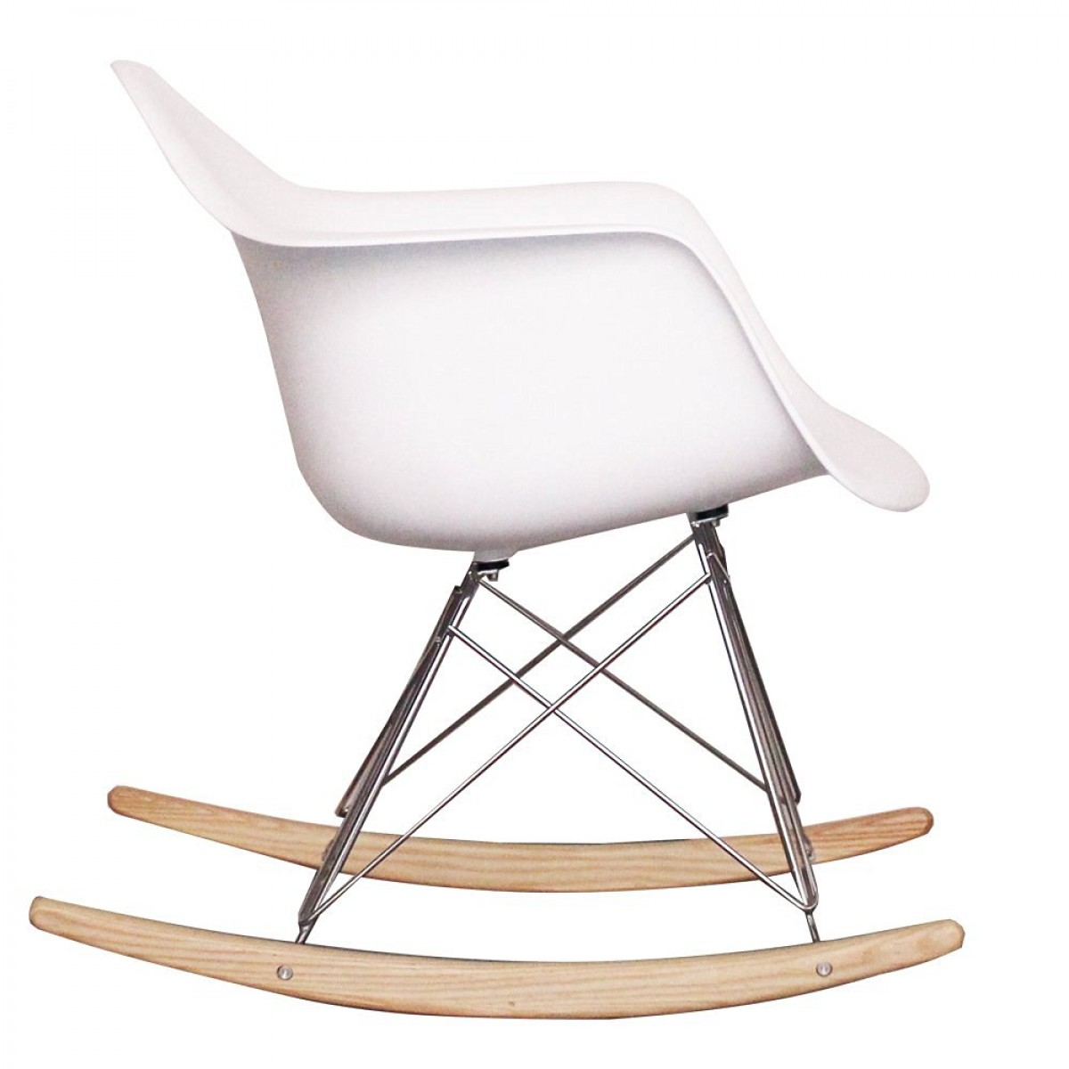 eames arm chair blue and a half with ottoman style dining rocking rar white replica