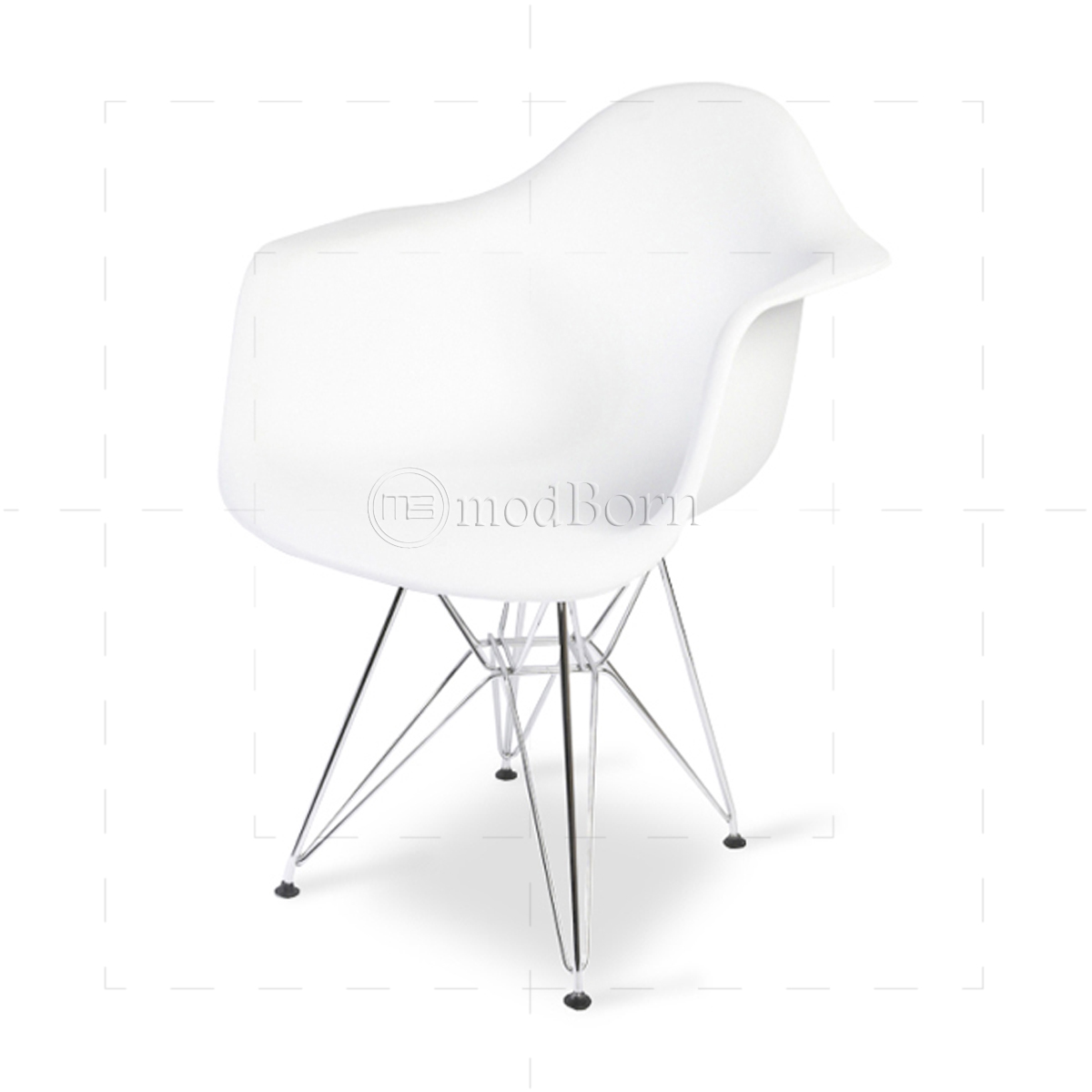 eames chair white covers for sale perth style dining dar arm