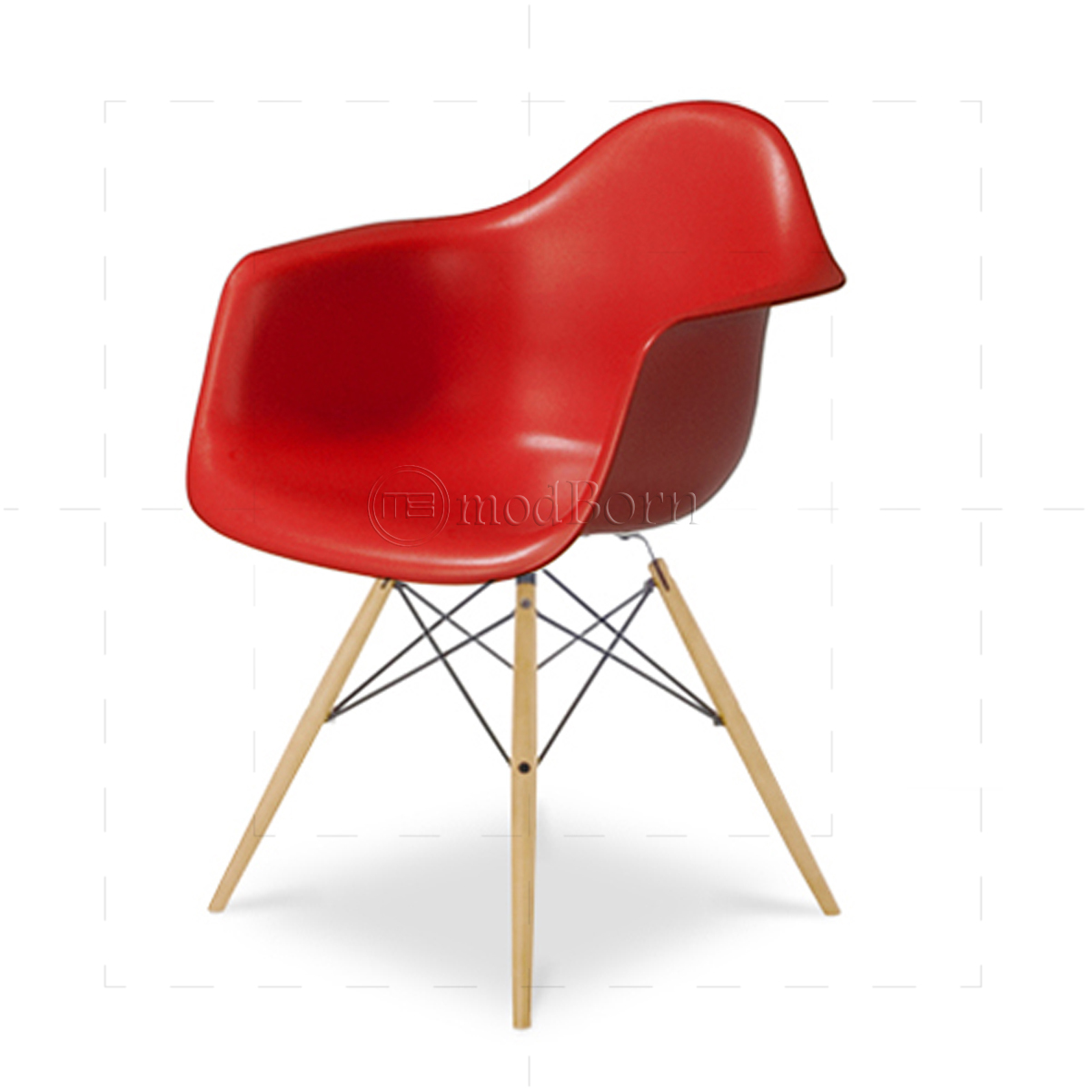 eames replica chairs uk chair cover rentals in maryland style dining daw arm red