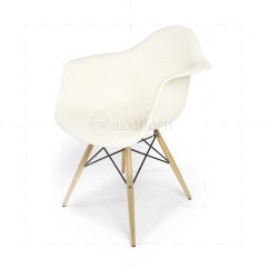 Eames Replica Chairs Uk Curved Dining Chair Style Daw Arm White