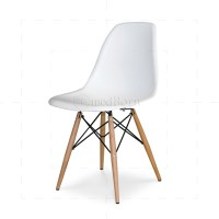Eames Style Dining DSW Chair White
