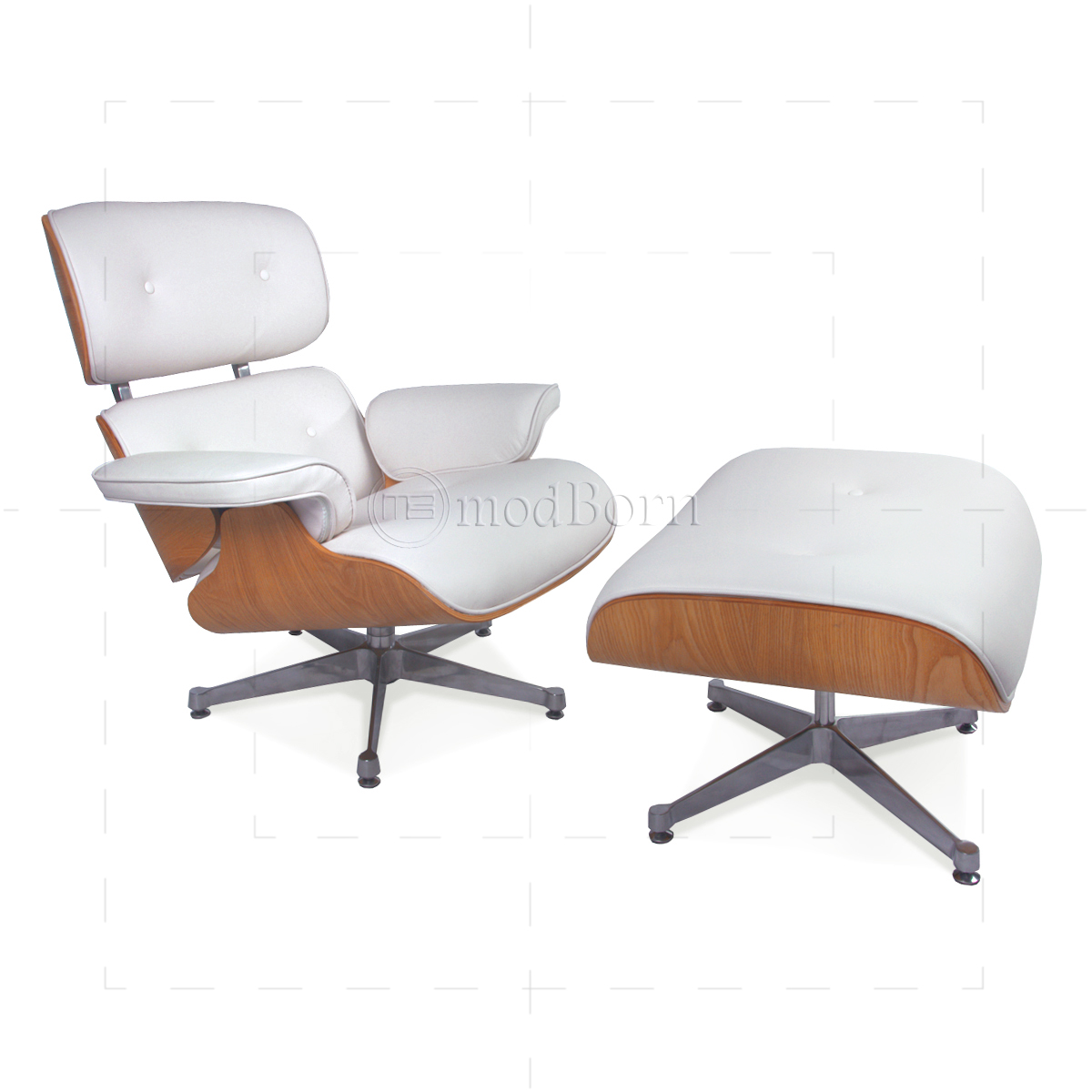 white eames lounge chair replica modern unusual chairs style and ottoman leather ash plywood