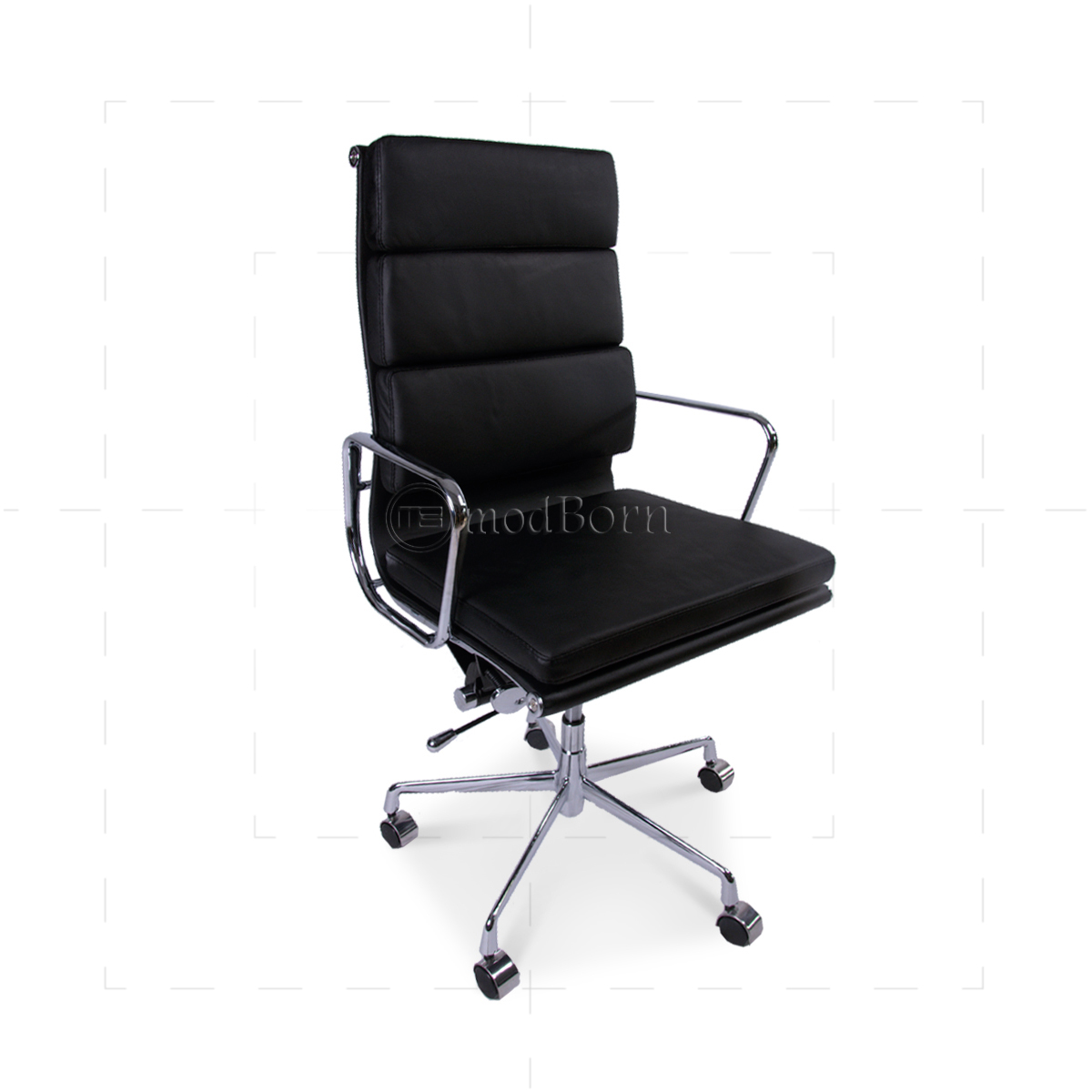 s chair replica quirky bedroom ea219 eames style office high back soft pad black