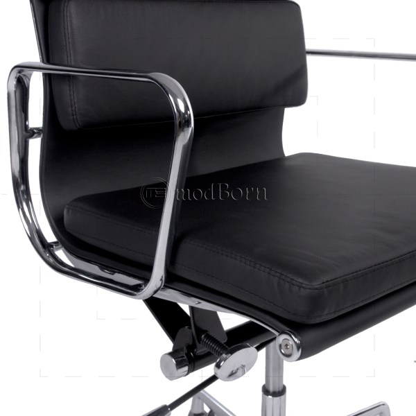 Black Eames Style Office Chairs