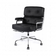 eames management chair replica folding sleeper ea104 style office lobby black leather executive