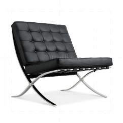Mies Van Der Rohe Barcelona Chair The Best Baby To Eat Ludwig Style Black Leather