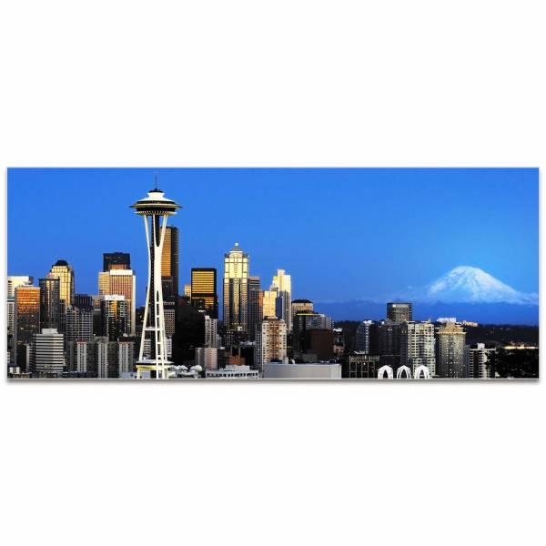Seattle Skyline Metal Art