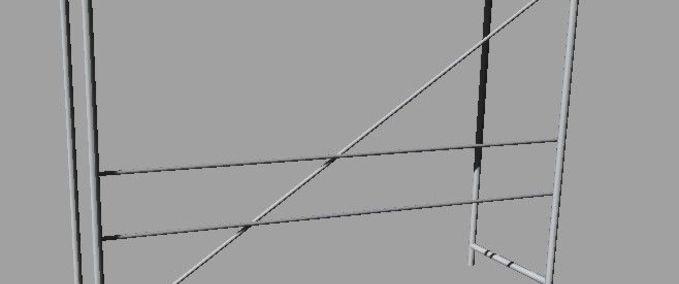 LS 2011: Standgerüst Metall v 1.0 Objekte Mod für