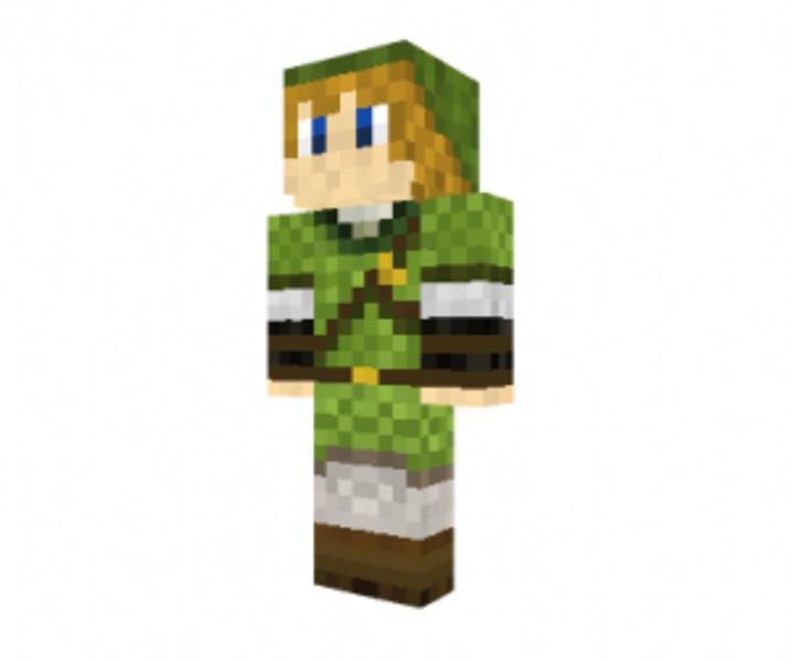 Minecraft: Link Skin v 1.3.2 Skins Mod fr Minecraft