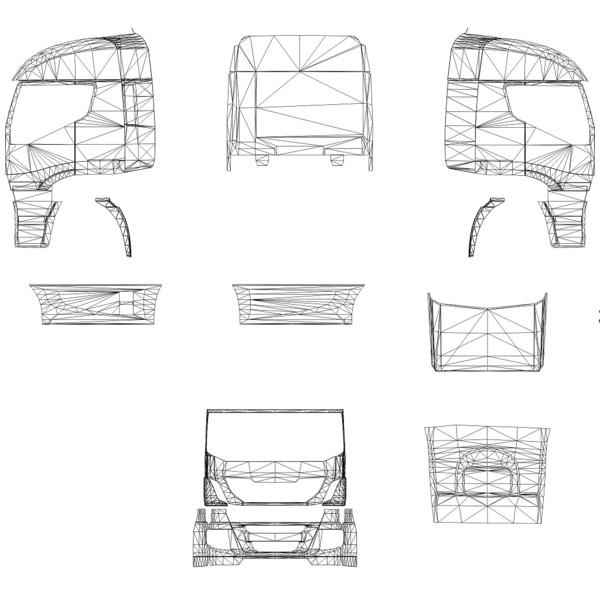 ETS 2: Iveco Highway template v 1.0 Iveco Mod für