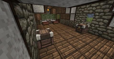 Minecraft: Minecraft Medieval House v 1 7 4 Maps Mod für Minecraft