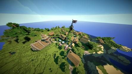 medieval village minecraft maps dorf mod modhoster huge mods