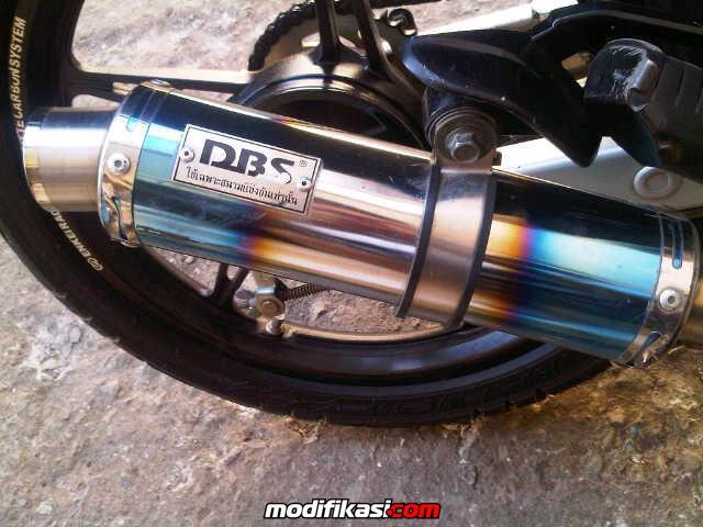 WTS knalpot DBS for jupiter MX