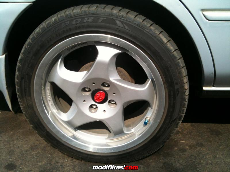 Velg Thowing Star R16 75 Et25  Ban made in japan