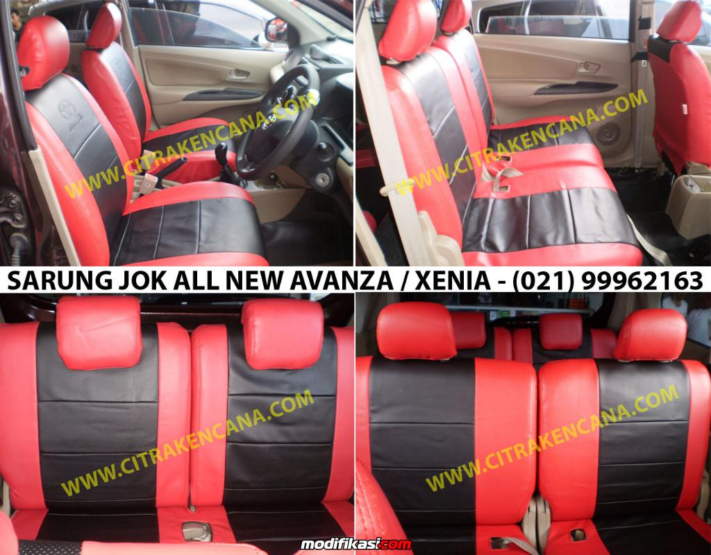 warna grand new avanza dark brown 1.5 g m/t baru murah sarung jok great xenia 2015