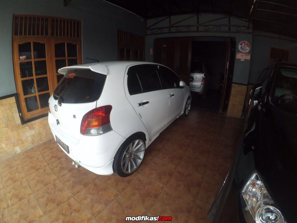 toyota yaris trd putih all new 2017 photo modif mobil