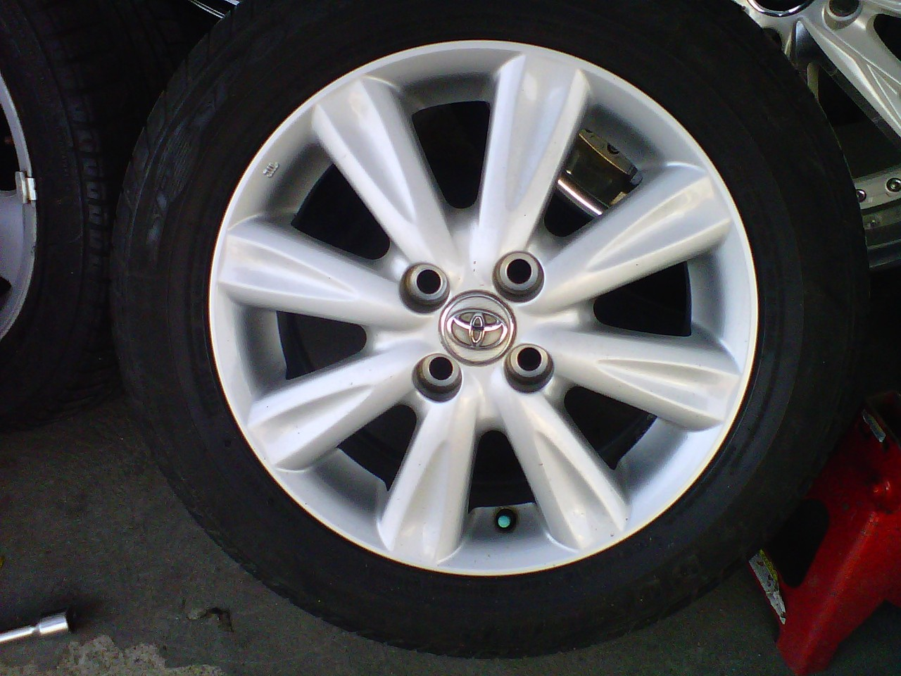 ukuran velg all new yaris trd grand avanza veloz bekas std ban dunlop 95 r15