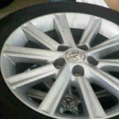 Jual Velg All New Camry Interior Grand Avanza G Bekas Fs Oem Hybrid R17 5x114 Ban Bs Turanza Er33 Ar20 215 55