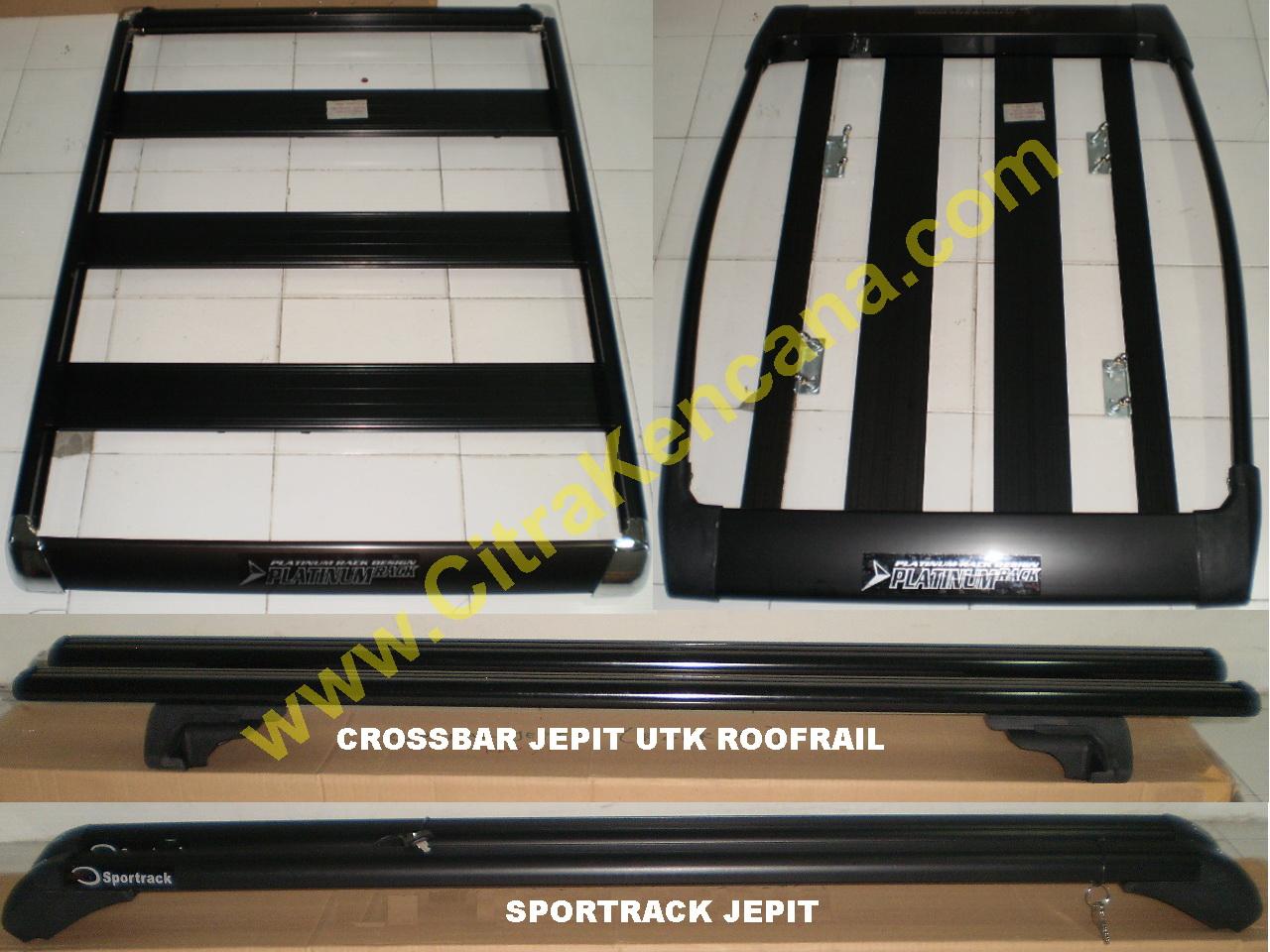 roof rack grand new avanza toyota yaris trd sportivo terbaru baru super promo roofrack 43 crossbar sportrack utk semua