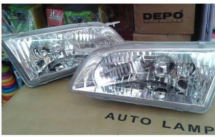 jual spoiler grand new avanza fitur 2016 (jual) headlamp proyektor / crystal & stoplamp led