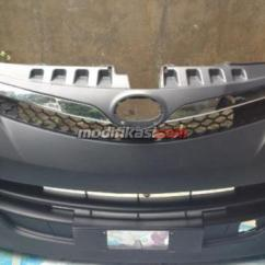 Bemper Depan Grand New Avanza Veloz Gambar All Alphard Bumper Fullset