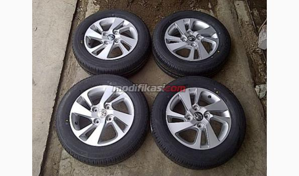 velg oem grand new veloz filter oli avanza 15 4x114 bridgestone 185 65 baru