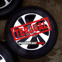 Velg Oem Grand New Veloz All Kijang Innova Ets2 Avanza 2016 15 4x114 Bridgestone 185 65