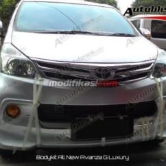 Grand New Avanza G Luxury Veloz 1.3 Paket Set Bodykit All Plastic Abs Grade B