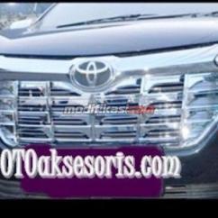 Grill Chrome Grand New Avanza All Toyota Altis 2018 Full Model Alphard