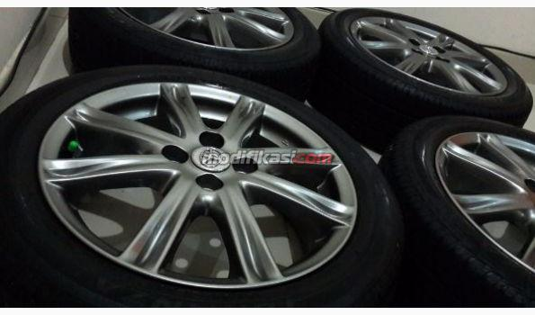 ukuran velg all new yaris trd grand avanza boros racing ring 16 original oem vios plus ban
