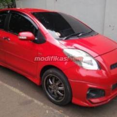 Toyota Yaris Trd Sportivo Manual Lampu All New 2012 S Warna Merah