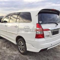 New Kijang Innova Luxury Agya G Vs Trd 2015 Toyota Putih At 11rb